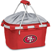 Metro Basket - Red (San Francisco 49ers) Digital Print