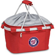 Metro Basket - Red (Washington Nationals) Digital Print
