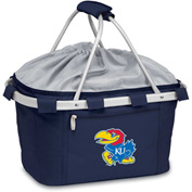 Metro Basket - Navy (U of Kansas Jayhawks) Digital Print