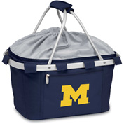 Metro Basket - Navy ( U of Michigan Wolverines) Embroidered