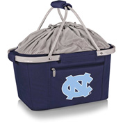 Metro Basket - Navy (University of North Carolina Tar Heels) Embroidered