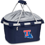 Metro Basket - Navy (Louisiana Tech U Bulldogs) Digital Print