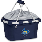 Metro Basket - Navy (McNeese State Univ. Cowboys) Embroidery
