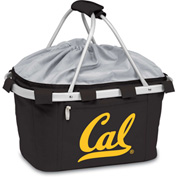 Metro Basket - Black (UC Berkeley Golden Bears) Digital Print