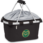 Metro Basket - Black (Colorado State Rams) Embroidered