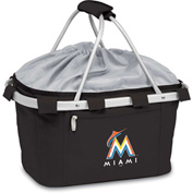 Metro Basket - Black (Miami Marlins) Digital Print
