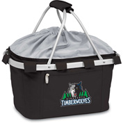 Metro Basket - Black (Minnesota Timberwolves) Digital Print