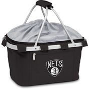 Metro Basket - Black (Brooklyn Nets) Digital Print
