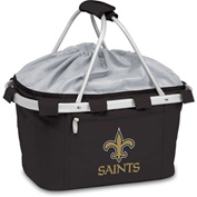 Metro Basket - Black (New Orleans Saints) Digital Print