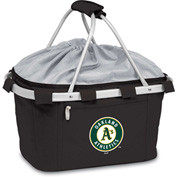Metro Basket - Black (Oakland Athletics) Digital Print