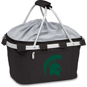 Metro Basket - Black (Michigan State Spartans) Digital Print