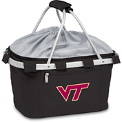 Metro Basket - Black (Virginia Tech Hokies) Embroidered