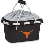Metro Basket - Black (U Of Texas Longhorns) Embroidered