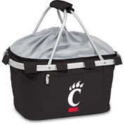 Metro Basket - Black (U Of Cincinnati Bearcats) Digital Print