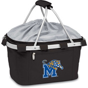 Metro Basket - Black (U of Memphis Tigers) Embroidered
