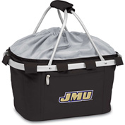 Metro Basket - Black (James Madison U Dukes) Embroidered