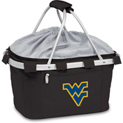 Metro Basket - Black (West Virginia U Mountaineers) Digital Print