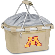 Metro Basket - Tan (U Of Minnesota Golden Gophers) Digital Print