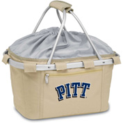 Metro Basket - Tan (U Of Pittsburgh Panthers) Digital Print