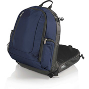 Picnic Time Navigator Stadium Seat & Cooler Backpack Navy/Black