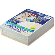 """Pacon® Array Card Stock 101196, 8-1/2"""" x 11"""", Assorted Bright/Pastel, 250/Pack"""