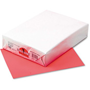 """Pacon® Kaleidoscope Multipurpose Paper 102212, 8-1/2""""x11"""", Hyper® Coral Red, 500 Shts/Ream"""