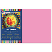 "Pacon® Tru-Ray Construction Paper 12"" x 18"" Shocking Pink"
