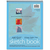 "Pacon® Artist's Sketch Book 103207, 9"" x 12"", White, 30 Sheets/Pad"
