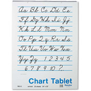 "Pacon® Chart Tablets 74510, 24"" x 32"", White, 1 Each"