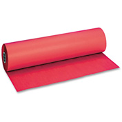 "Pacon® Decorol Flame Retardant Art Rolls, 40 lb, 36"" x 1000 ft, Cherry Red"