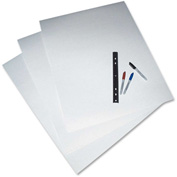 "Pacon® 4-Ply Poster Board, 22""W x 28""H, White, 25/Carton"