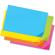 """Pacon® Super Bright Tagboard, 12""""W x 18""""H, Assorted Bright, 100/Pack"""