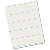 Pacon® Ruled Newsprint Paper, 30 lbs., 8-1/2 x 11, White, 500 Sheets/Pack