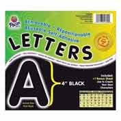 "Pacon® 4"" Self-Adhesive Letters, Black, 78 Characters/Pack"