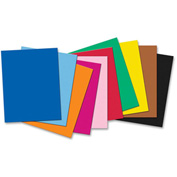 "Pacon® 4-Ply Poster Board, 28""W x 22""H, Assorted, 50/Carton"