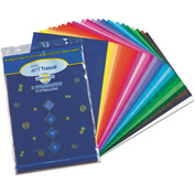 Pacon® Spectra Art Tissue, 10 lbs., 12 x 18, 10 Assorted Colors, 50 Sheets/Pack