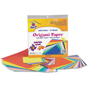 Pacon® Origami Paper, 30 lbs., 9-3/4 x 9-3/4, Assorted Bright Colors, 55 Sheets/Pack
