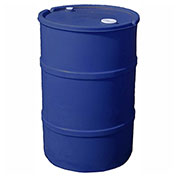 US Roto Molding 20 Gallon Plastic Drum SS-CH-20 - Closed Head with Bung Cover - Lever Lock - Blue