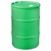 US Roto Molding 35 Gallon Plastic Drum SS-CH-35 - Closed Head with Bung Cover - Lever Lock - Green