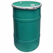 US Roto Molding 20 Gallon Plastic Drum SS-OH-20 - Open Head with Bung Cover - Lever Lock - Green
