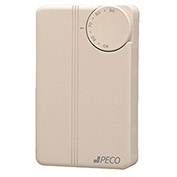 PECO Thermostat TA155-018 Manual Changeover, Heat/Cool, No Switch, 24-277VAC