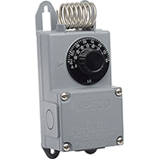PECO Industrial NEMA 4X Thermostat, 40°-110° Temperature Range