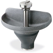 "Bradley TDB3103 Terreon 3 Person 36"" Semi-Circular, 7-1/2"" Deep Bowl Washfountain W/Off-line Vent"