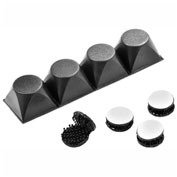 Ventilation Maximizing Risers and Touch fasteners Accessory Kit