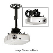 "8.7""-12.8"" Adjustable Ceiling And Wall Extension For PRG /PRS Mount - Black"