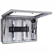 "Indoor/Outdoor Protective Enclosure w/ Cooling Fans, for 46""-47"" Flat Panel Displays"
