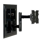 "In-Wall Mount For 32""-71"" Flat Panel Screens w/ VESA Mounting Patterns - Black"