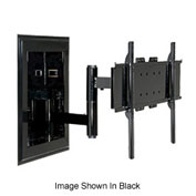 """Universal In-Wall Mount For 32"""" - 60"""" Flat Panel Screens - Gloss Silver"""