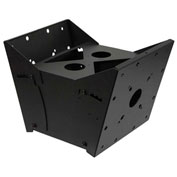 Dual Pole Back-To-Back Flat Panel Tilt Box Mount