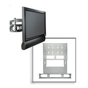 Multi-Channel Single Speaker Accessory For Flat Panel Mounts - Black